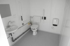 Туалетный модуль внутри