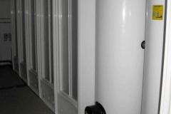 Бойлер в туалетном модуле
