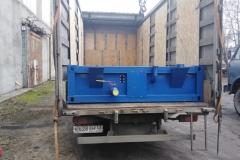 Н-контейнер в погруженном виде