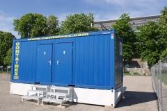 Туалетный модуль в сборе